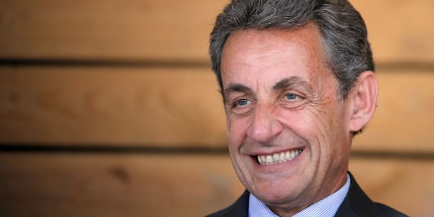 File photo of Nicolas Sarkozy, head of France's Les Republicains political party and former French president, while attending a meeting with farmers at a farm in Kriegsheim near Strasbourg, France, July 9, 2016. Former French President Nicolas Sarkozy will run for next year's presidential election, he announced on his Facebook account August 22, 2016.    REUTERS/Vincent Kessler/File Photo