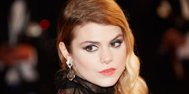 CANNES, FRANCE - MAY 19: Coeur De Pirate attends the screening of 'It's Only The End Of The World (Juste La Fin Du Monde)' at the annual 69th Cannes Film Festival at Palais des Festivals on May 19, 2016 in Cannes, France. (Photo by Kristina Nikishina/Epsilon/Getty Images)