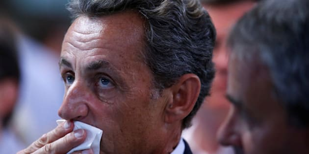 Nicolas Sarkozy, former head of the Les Republicains political party and a former French president, attends the party's weekend summer university youth meeting in Le Touquet-Paris-Plage, France, August 27, 2016.  REUTERS/Pascal Rossignol