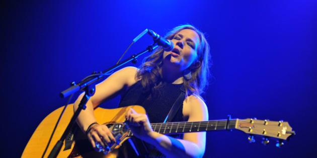 LONDON, UNITED KINGDOM - NOVEMBER 27: Addie Brownlee performs on stage at Queen Elizabeth Hall on November 27, 2014 in London, United Kingdom. (Photo by C Brandon/Redferns via Getty Images)