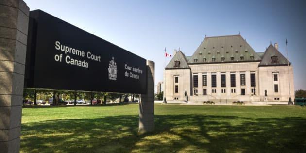 Supreme Court of Canada near Parliament Hill in Ottawa, Ontario