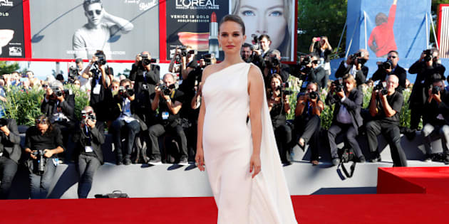 """Actress Natalie Portman attends the red carpet for the movie """"Planetarium"""" at the 73rd Venice Film Festival in Venice, Italy September 8, 2016. REUTERS/Alessandro Bianchi"""