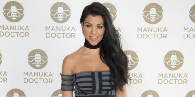 Kourtney Kardashian poses for photographers at a photo call for the launch of Manuka Doctor at the Edition hotel in central London, Wednesday, June 8, 2016. (Photo by Joel Ryan/Invision/AP)