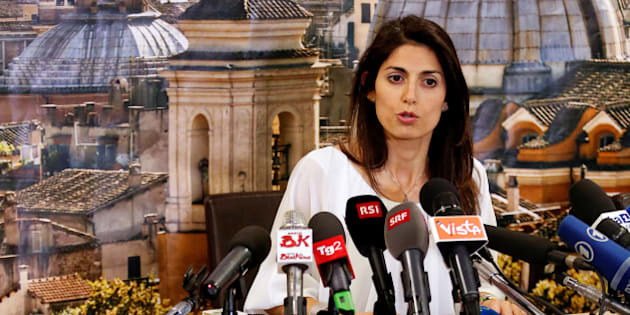 Rome's newly elected mayor Virginia Raggi, of 5-Star Movement, talks during a news conference in Rome, Italy June 20, 2016. REUTERS/Remo Casilli