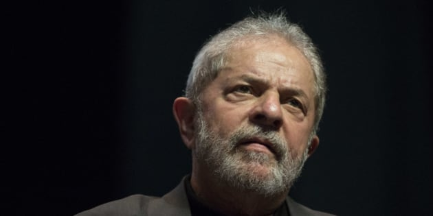 Brazil's Former President Luiz Inacio Lula da Silva speaks at a rally in defense of public companies and against Brazil's interim President Michel Temer in Rio de Janeiro, Brazil, Monday, June 6, 2016. Lula criticized Brazil's interim president Temer and defended Petrobras, the state run oil company which was once a symbol of Brazil's prosperity and is now at the center of a corruption investigation. (AP Photo/Felipe Dana)