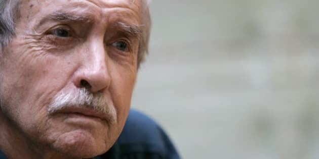 Edward Albee poses for a portrait, Thursday, March 13, 2008, in New York.  (AP Photo/Mary Altaffer)