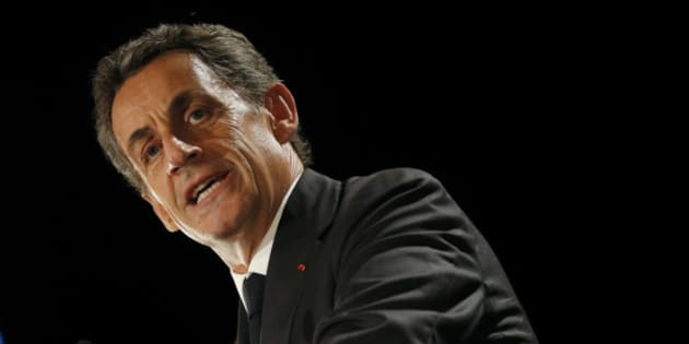 Nicolas Sarkozy, former head of the Les Republicains political party, attends a political rally in Franconville, France, as he campaigns for the French conservative presidential primary, September 19, 2016. REUTERS/Philippe Wojazer