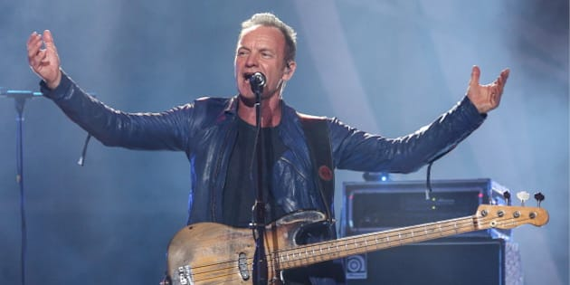 SOCHI, RUSSIA - SEPTEMBER 9, 2016: English singer Sting performs during the closing ceremony of the 2016 New Wave international music competition. Vyacheslav Prokofyev/TASS (Photo by Vyacheslav Prokofyev\TASS via Getty Images)