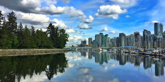 Photo taken in Stanley Park, Vancouver, British Columbia, Canada.