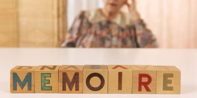 Elderly patient suffering from memory loss, Aging