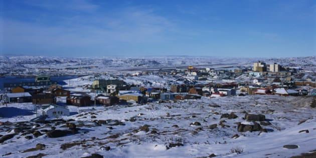 Iqaluit Under Snow