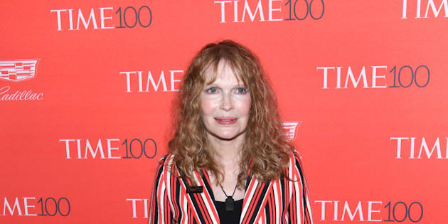 Mia Farrow attends the TIME 100 Gala, celebrating the 100 most influential people in the world, at Frederick P. Rose Hall, Jazz at Lincoln Center on Tuesday, April 26, 2016, in New York. (Photo by Evan Agostini/Invision/AP)