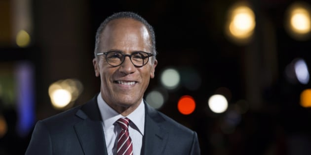 FILE - In this Oct. 28, 2015, file photo, NBC Nightly News anchor Lester Holt arrives at the 9th Annual California Hall of Fame induction ceremonies at the California Museum, in Sacramento, Calif.  Holt will moderate the first scheduled presidential debate on Sept. 26, 2016 with  ABC's Martha Raddatz, CNN's Anderson Cooper and Fox News Channel's Chris Wallace lined up for others. (Jose Luis Villegas/The Sacramento Bee via AP, Pool, File)