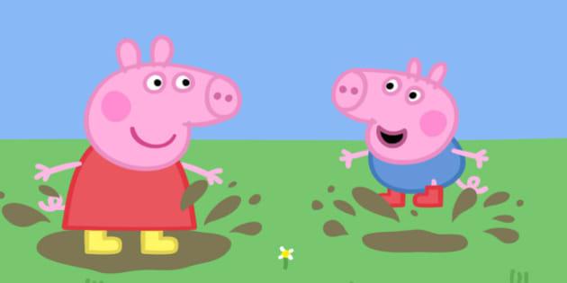 Peppa Pig A Van do Sr Raposo , crianças dos desenhos animados - Video  Dailymotion