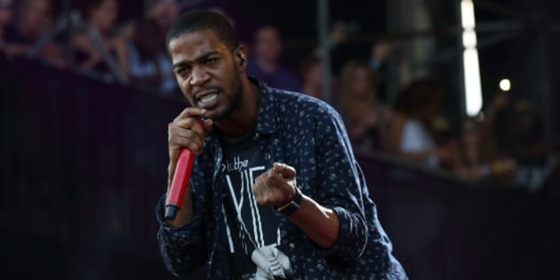 FILE - In this Aug. 1, 2015, file photo, Kid Cudi performs at the Lollapalooza Music Festival in Grant Park in Chicago. Cudi slammed Kanye West in a series of critical tweets on Wednesday, Sept. 14, 2016. (Photo by Steve C. Mitchell/Invision/AP, File)