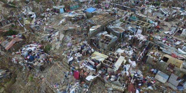 ハイチが大型ハリケーン「マシュ...