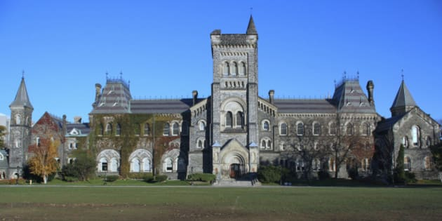 'The main building of University College,  building, built 1853, considered one of North America's finest buildings in the Norman style of architecture.(I work near the University of Toronto, and have many other photos available, including 8mp file sizes.)'