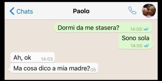 come la prendete se la ragazza fa la prima mossa internet search ragazze italiane video chat