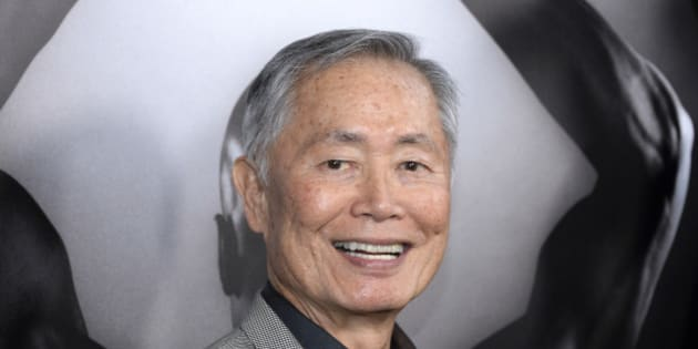 "FILE - In this March 15, 2016 file photo, actor George Takei attends the premiere of ""Mapplethorpe: Look at the Pictures"" in Los Angeles, Calif. Takei is donating a trove of art and artifacts from his life and career to the Japanese American National Museum in Los Angeles. The museum announced the gift Wednesday, Sept. 28, and said the collection will be featured in an exhibition,""New Frontiers: The Many Worlds of George Takei"" opening March 12. (Photo by Phil McCarten/Invision/AP, File)"