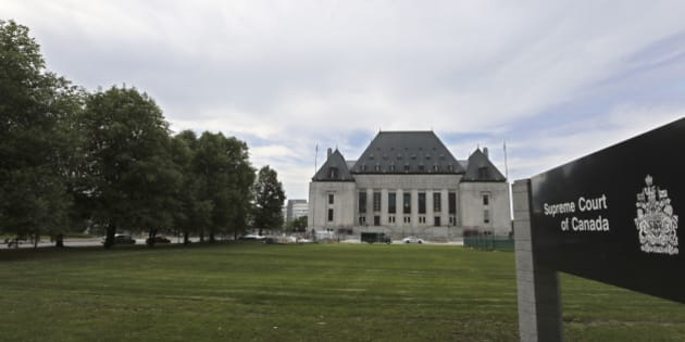 OTTAWA, ON - JUNE 15: Ottawa, Canada - June 15  -  The Supreme Court of Canada. Stock photography of buildings and institutions in Ottawa for future story use.        (Richard Lautens/Toronto Star via Getty Images)