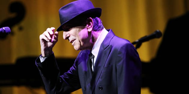 Leonard Cohen performs on the Old Ideas World Tour, at The Fabulous Fox Theatre on Friday, March 22, 2013, in Atlanta. (Photo by Robb D. Cohen/RobbsPhotos/Invision/AP)
