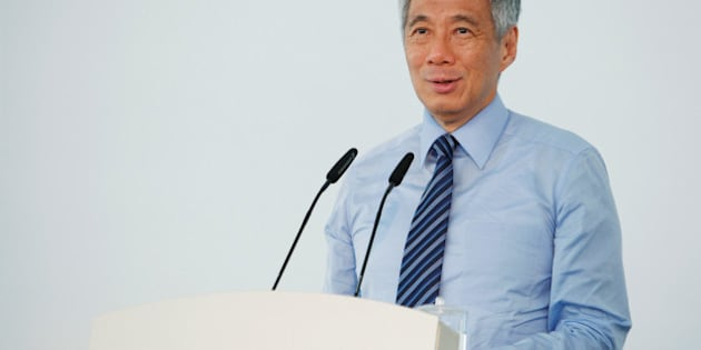 Singapore's Prime Minister Lee Hsien Loong speaks in Singapore September 2, 2014. Lee has been diagnosed with prostate cancer and will undergo surgery to remove his prostate gland on Monday, his office said on February 15, 2015. Picture taken September 2, 2014. REUTERS/Edgar Su/File photo