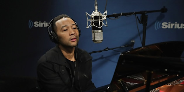 NEW YORK, NY - NOVEMBER 14:  Singer John Legend performs during 'The Hoda Show' on Today Show Radio at SiriusXM Studios on November 14, 2016 in New York City.  (Photo by Cindy Ord/Getty Images)