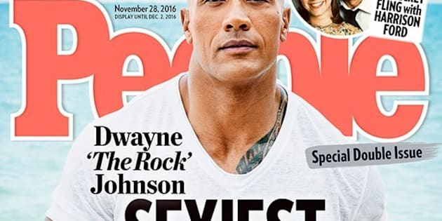 Dwayne 'The Rock' Johnson is People's 'Sexiest Man Alive'