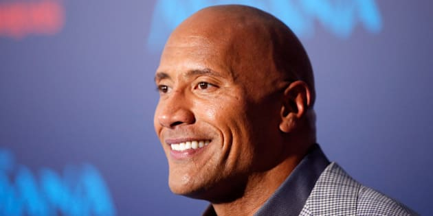 "Actor Dwayne Johnson poses at the world premiere of Walt Disney Animation Studios' ""Moana"" in Hollywood, California, U.S., November 14, 2016.   REUTERS/Danny Moloshok/File Photo"