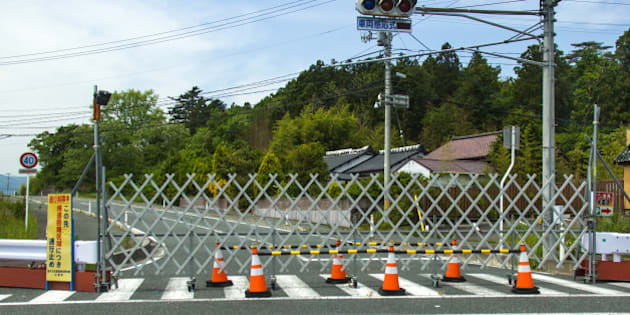 TOMIOKA, JAPAN - MAY 23: Difficult-to-return zone after the daiichi nuclear power plant irradiation, fukushima prefecture, tomioka, Japan on May 23, 2016 in Tomioka, Japan.  (Photo by Eric Lafforgue/Art in All of Us/Corbis via Getty Images)