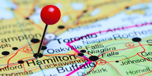 Hamilton Ontario Canada Map.Hamilton S Housing Market Set To Be The Hottest In Canada Huffpost
