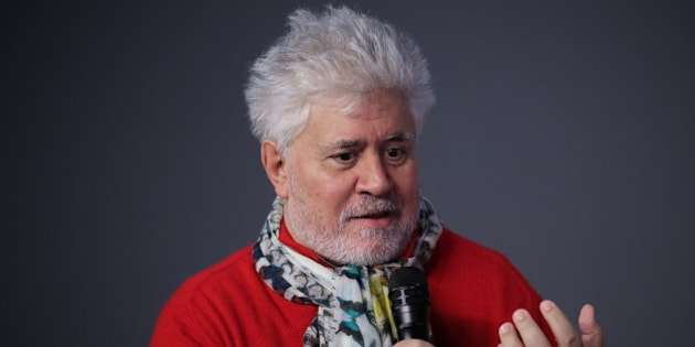 NEW YORK, NY - DECEMBER 02:  Director  Pedro Almodovar discusses his latest film 'Julieta' at Apple Store Soho on December 2, 2016 in New York City.  (Photo by Brent N. Clarke/WireImage)