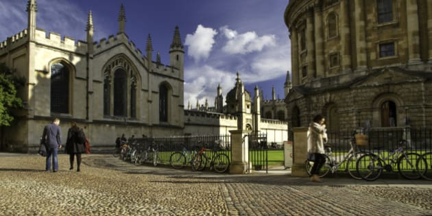Radcliffe Camera and All Souls College, University of Oxford, England