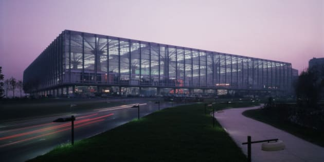 Pier Luigi Nervi (1891-1979), an Italian architect designed the main Turin exhibition hall in 1948.