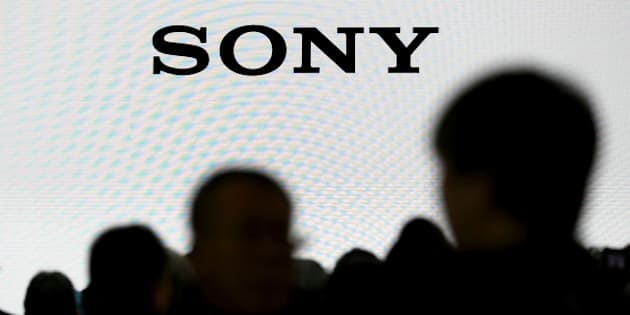 The company logo of Sony Cooperation is seen at the CP+ camera and photo trade fair in Yokohama, Japan, February 25, 2016. REUTERS/Thomas Peter/File Photo