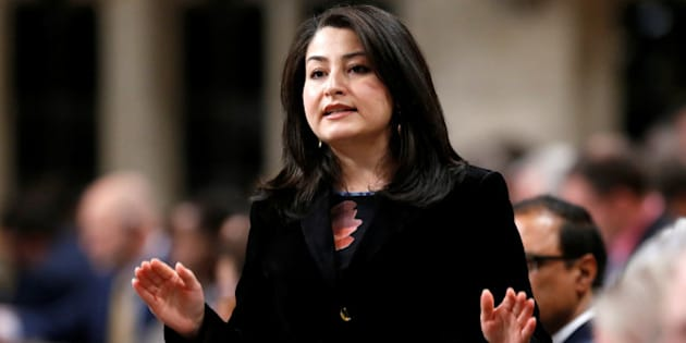 Canada's Democratic Institutions Minister Maryam Monsef speaks during Question Period in the House of Commons on Parliament Hill in Ottawa, Ontario, Canada, December 7, 2016. REUTERS/Chris Wattie