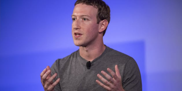 Mark Zuckerberg, chief executive officer and founder of Facebook Inc., gestures as he speaks during a session at the Techonomy 2016 conference in Half Moon Bay, California, U.S., on Thursday, Nov. 10, 2016. The annual conference, which brings together leaders in the technology industry, focuses on the centrality of technology to business and social progress and the urgency of embracing the rapid pace of change brought by technology. Photographer: David Paul Morris/Bloomberg via Getty Images