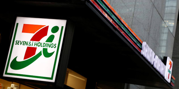 Seven & i Holdings Co's Seven Eleven convenience store logo is pictured in Tokyo, Japan January 12, 2017. REUTERS/Kim Kyung-Hoon