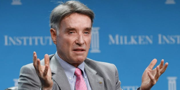 Eike Batista, Chairman and CEO of EBX Group speaks at a dinner panel discussion at the Milken Institute Global Conference in Beverly Hills, California April 30, 2012. REUTERS/Mario Anzuoni  (UNITED STATES - Tags: BUSINESS PROFILE)