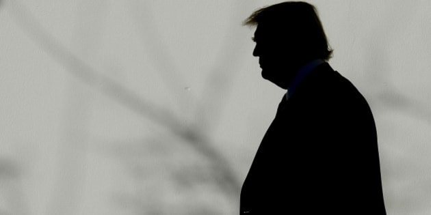 US President Donald Trump walks back to the Oval Office of the White House, January 26, 2017 in Washington, D.C .Photo by Olivier Douliery/Abaca