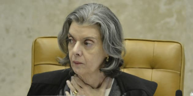 BRASILIA, BRAZIL - DECEMBER 07: Federal Supreme Court  Minister (STF), Carmen Lucia participates of the trial for the removal of former senate President Renan Calheiros at the senate on December 07, 2016 in Brasilia, Brazil. Brazil's Supreme Court ruled on December 5th to remove Calheiros as president of the senate on charges of embezzlement. (Photo by Ricardo Botelho/Brazil Photo Press/LatinContent/Getty Images)
