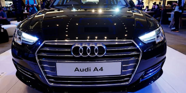 JAKARTA, INDONESIA - JUNE 01: A new Audi A4 during its launch on June 01, 2016 in Jakarta, Indonesia.   PHOTOGRAPH BY Jefta Images / Barcroft Images  London-T:+44 207 033 1031 E:hello@barcroftmedia.com - New York-T:+1 212 796 2458 E:hello@barcroftusa.com - New Delhi-T:+91 11 4053 2429 E:hello@barcroftindia.com www.barcroftimages.com (Photo credit should read Jefta Images / Barcroft Images / Barcroft Media via Getty Images)