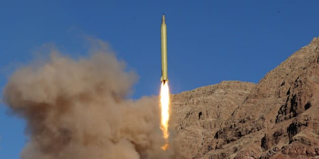 A ballistic missile is launched and tested in an undisclosed location, Iran, March 9, 2016. REUTERS/Mahmood Hosseini/TIMA   ATTENTION EDITORS - THIS PICTURE WAS PROVIDED BY A THIRD PARTY. REUTERS IS UNABLE TO INDEPENDENTLY VERIFY THE AUTHENTICITY, CONTENT, LOCATION OR DATE OF THIS IMAGE. FOR EDITORIAL USE ONLY. NOT FOR SALE FOR MARKETING OR ADVERTISING CAMPAIGNS. NO THIRD PARTY SALES. NOT FOR USE BY REUTERS THIRD PARTY DISTRIBUTORS. THIS PICTURE IS DISTRIBUTED EXACTLY AS RECEIVED BY REUTERS, AS A SERVICE TO CLIENTS.
