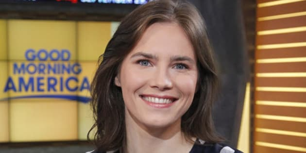 GOOD MORNING AMERICA - Amanda Knox is a guest on 'Good Morning America,' Thursday, September 29, 2016, airing on the ABC Television Network.   (Photo by Lou Rocco/ABC via Getty Images)  AMANDA KNOX