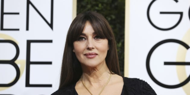 Actress Monica Bellucci arrives at the 74th Annual Golden Globe Awards in Beverly Hills, California, U.S., January 8, 2017.   REUTERS/Mike Blake