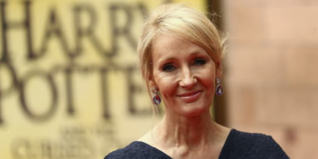 Author J.K. Rowling poses for photographers at a gala performance of the play Harry Potter and the Cursed Child parts One and Two, in London, Britain July 30, 2016. REUTERS/Neil Hall/File Photo