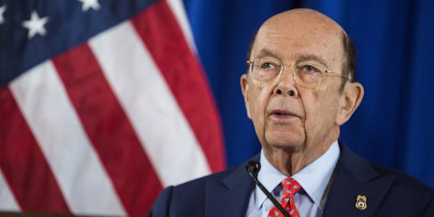 Wilbur Ross, U.S. Secretary of Commerce, speaks during a news conference at the U.S. Department of Commerce in Washington, D.C., U.S., on Tuesday, March 7, 2017. Since the election, Trump hasn't specified his trade plans, but the U.S. Trade Representative has said the U.S. won't be bound by World Trade Organization decisions, according to a document obtained by Bloomberg News. Photographer: Zach Gibson/Bloomberg via Getty Images