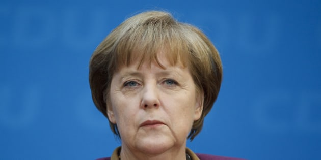 BERLIN, GERMANY - MARCH 26: Portrait of German Federal Chancellor Angela Merkel on March 26, 2012, in Berlin, Germany. Photo by Thomas Trutschel/Photothek via Getty Images)***Local Caption***Angela Merkel