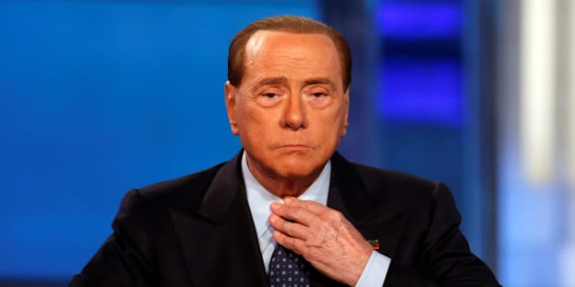 "Italy's former Prime Minister Silvio Berlusconi attends television talk show ""Porta a Porta"" (Door to Door) in Rome, Italy, November 30, 2016.  REUTERS/Remo Casilli"