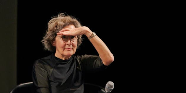 Paris, FRANCE:  US post modern dance choregrapher Trisha Brown, 70, gives a press conference, 05 January 2005 in Paris. she is to start with her dance company, Trisha Brown Dance Company (TBDC), an European tour (France, Luxemburg and Belgium). The Trisha Brown Dance Company will first give six performances at the Palais Garnier in Paris (6th to 10th January), marking the end of a three-year Trisha Brown's cooperation with Paris Opera.   AFP PHOTO JACQUES DEMARTHON  (Photo credit should read JACQUES DEMARTHON/AFP/Getty Images)